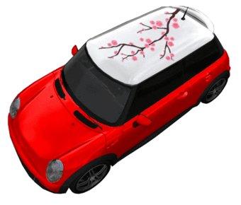 Dachsticker Sakura