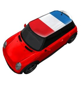 Dachsticker Frankreich-Flagge