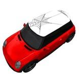 Autocollant de toite toile d'araignée