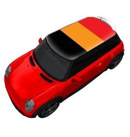 Dak sticker vlag België
