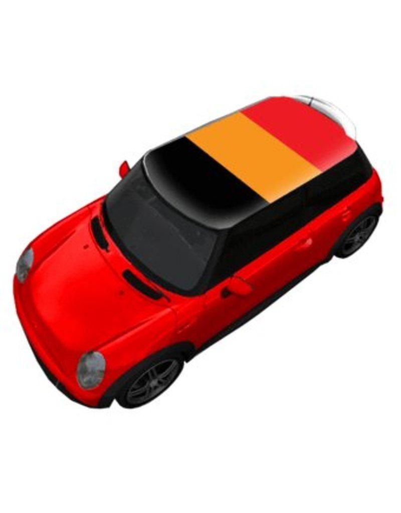 Roof sticker Flag Belgium