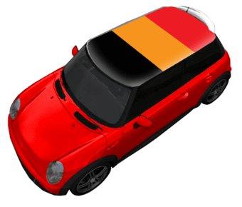 Tejado pegatina Bélgica