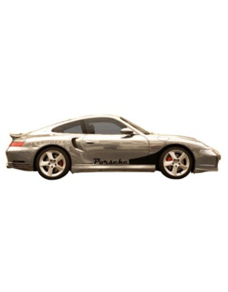 Porsche stripe & naam