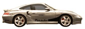 Porsche stripe & Name