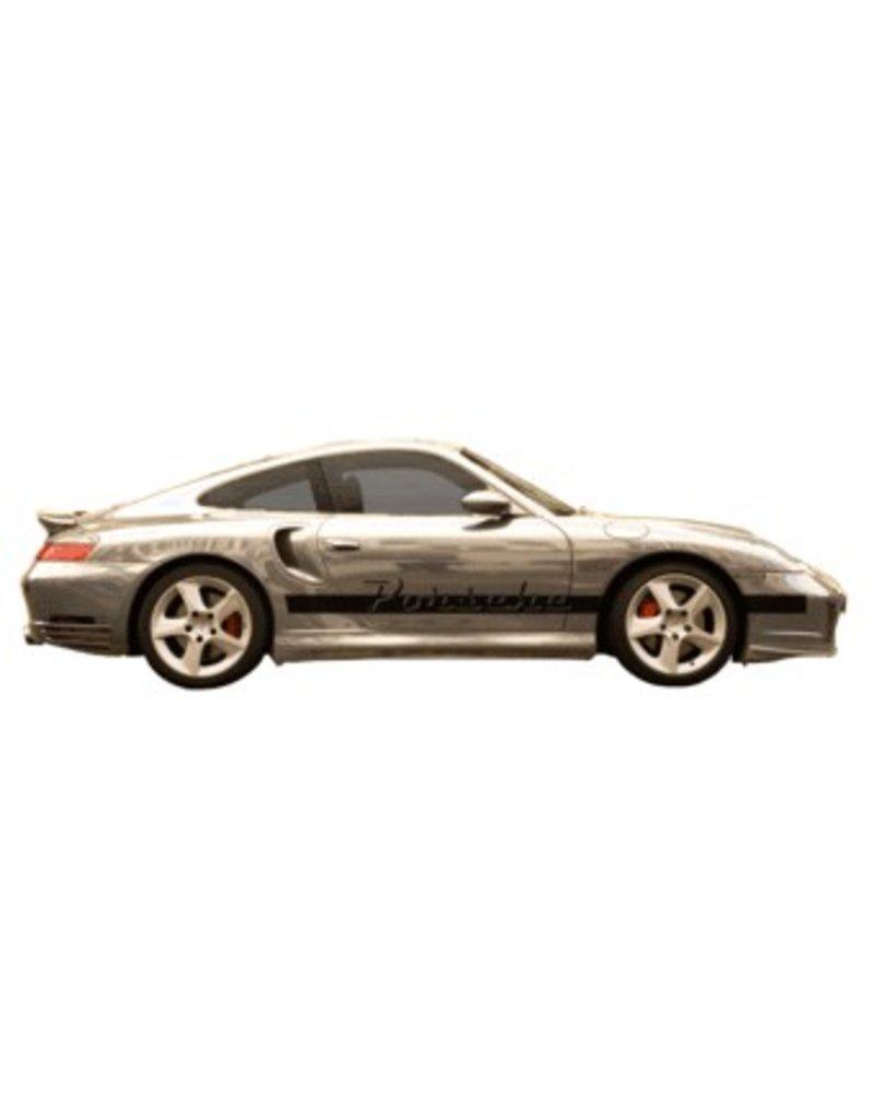 Porsche naam & stripe