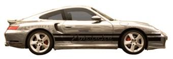Porsche nom & stripes