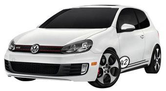 Auto-Aufkleber Rally Nummer 1 (2 Aufkleber)