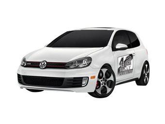 Autosticker Rally variant 3 (set van 2 stickers)