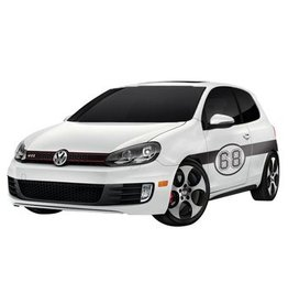 Auto-Aufkleber Rally Nummer 5 (2 Aufkleber)