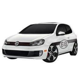 Autosticker Rally variant 5 (set van 2 stickers)