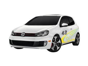 Autosticker Rally variant 6 (set van 2 stickers)