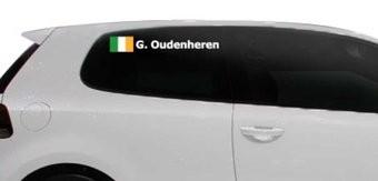 Rally Flag with name Ireland