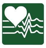 Herzfrequenzmessgerät Aufkleber