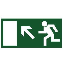 Escape route via stairs 6 sticker