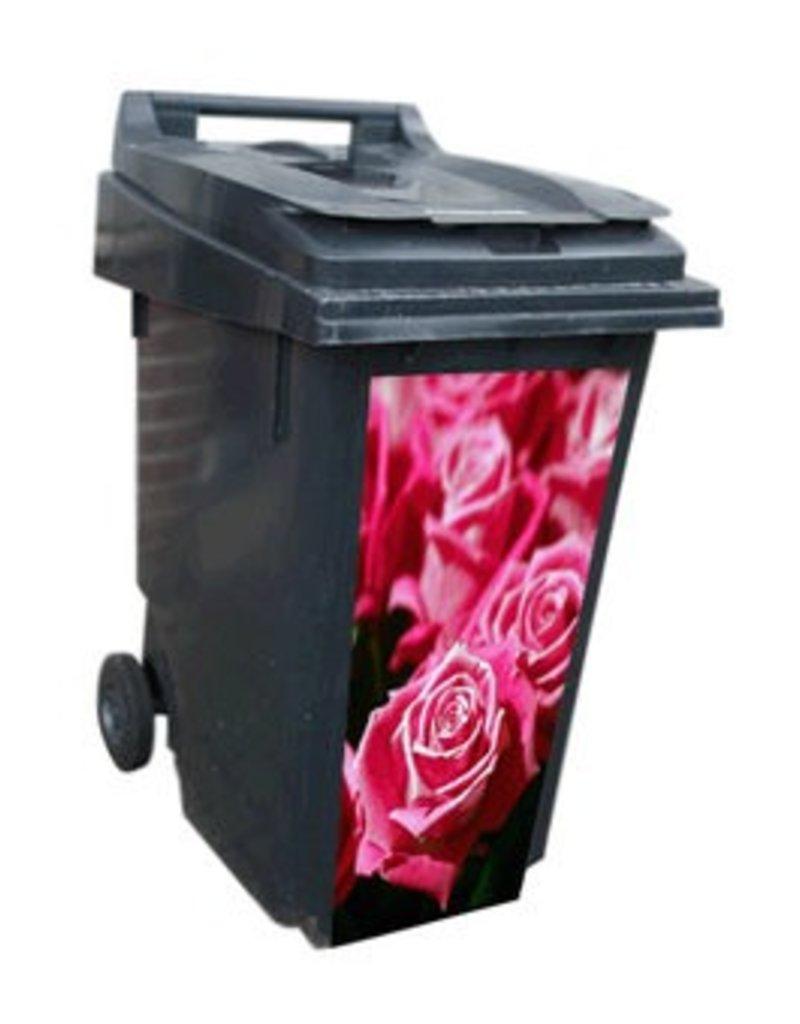 Rode rozen container Sticker