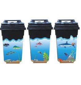 Underwater 3 container Stickers