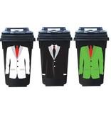 Costume 3 Autocollants de conteneurs