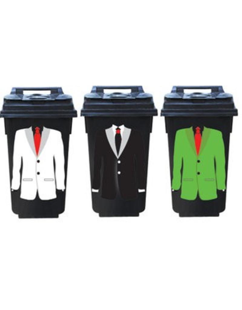Suit 3 container Stickers