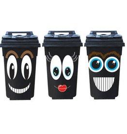 Smiley 3 Autocollants de conteneurs