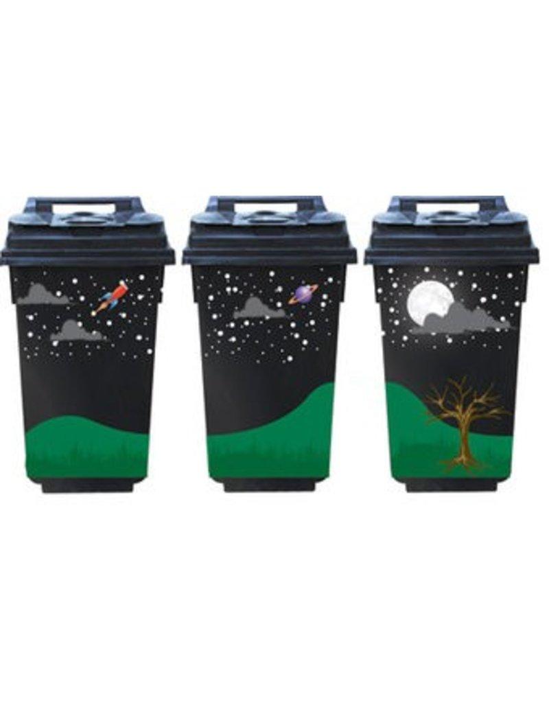 Vollemaan 3 container Stickers