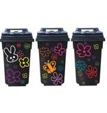 Bloemen container 3 Stickers