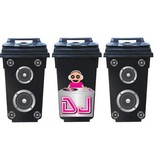 Dj container / dustbin 3 Stickers