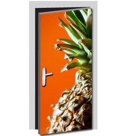Ananas Deur sticker
