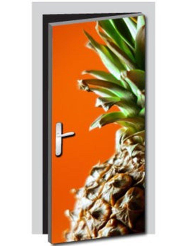 Pineapple Door sticker