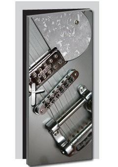 Bass guitar Door sticker