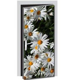 Bloemen Deur sticker