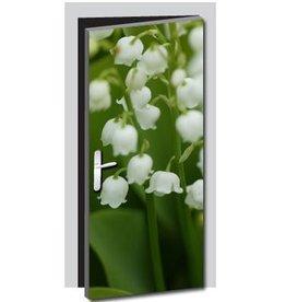 Bloemen 1 Deur sticker