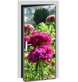 Flowers 2 Door sticker
