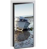 Boat Door sticker