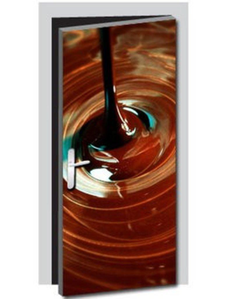 Pegatina de puerta chocolate 1