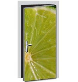 Limoen Deur sticker