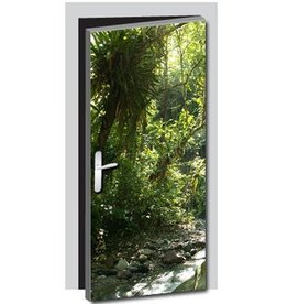 Nature Door Sticker