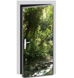 Pegatina de puerta entorno