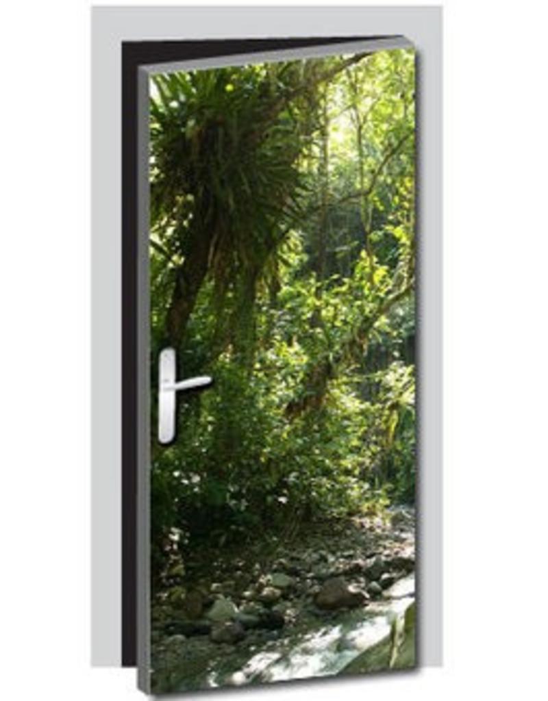 Nature Door Sticker