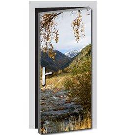 Natur1 Tür Aufkleber