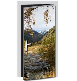 Nature1 Door Sticker