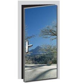 Natur2 Tür Aufkleber