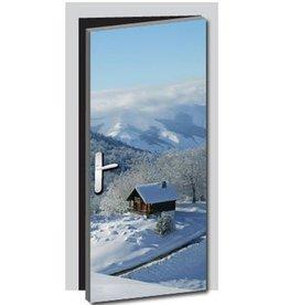 Natur3 Tür Aufkleber