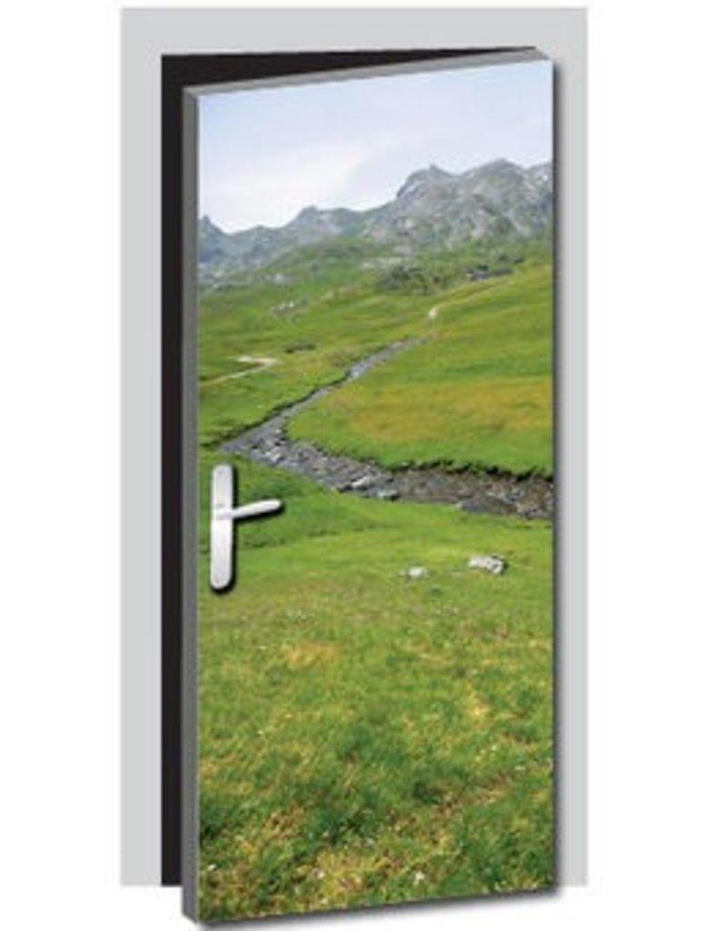 River 1 Door sticker