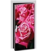 Rosen Tür Aufkleber