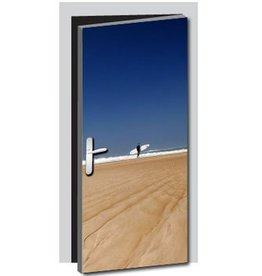 Surfer Door sticker