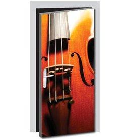 Viool Deur sticker