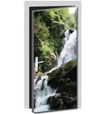 Waterfall Door sticker