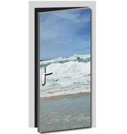 Sea door sticker