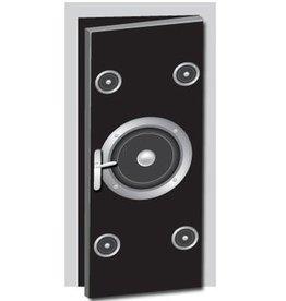 Lautsprecher Tür Aufkleber