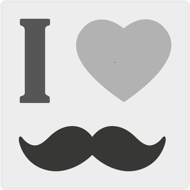 Movember stickers